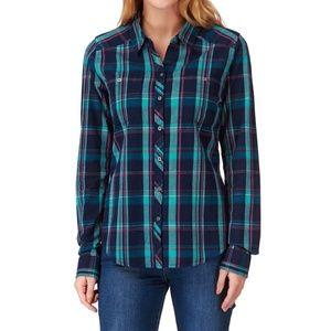 Roxy Sneaky Peaks Flannel Shirt